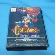Videojuegos y Consolas: CASTLEVANIA THE NEW GENERATION PARA SEGA MEGADRIVE . KONAMI. Lote 280213473