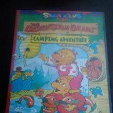 Videojuegos y Consolas: CARCASA PARA JUEGO CARTUCHO SEGA CLUB THE BERENSTAIN BEARS. CAMPING ADVENTURE. Lote 283336203