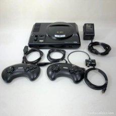 Videojuegos y Consolas: CONSOLA - SEGA MEGA DRIVE - 16 BIT + 2 MANDOS + CABLES - FUNCIONA. Lote 286058858