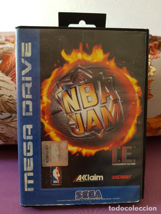 JUEGO MEGA DRIVE NBA JAM (Juguetes - Videojuegos y Consolas - Sega - MegaDrive)