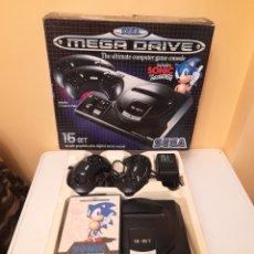 Videojuegos y Consolas: SEGA MEGA DRIVE 16 BIT / AÑOS 90- CON EL JUEGO SONIC THE HEDGEHOG - FUNCIONANDO. Lote 287148958