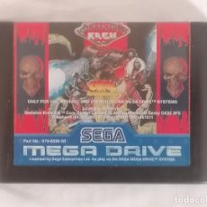 Videojuegos y Consolas: SEGA MEGA DRIVE SKELETON KREW PAL ESPAÑA. Lote 287611048