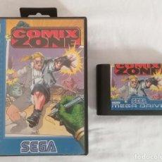 Videojuegos y Consolas: SEGA MEGA DRIVE COMIX ZONE PAL ESPAÑA. Lote 287614468