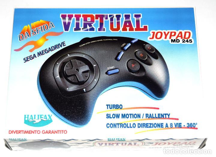 Videojuegos y Consolas: Mando compatible 3 botones con turbo Megadrive Honey Bee SG-8 Nuevo - Foto 3 - 287790733