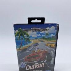 Videojuegos y Consolas: OUTRUN OUT RUN SEGA MEGADRIVE MEGA DRIVE ESPAÑA SOLO CAJA Y MANUAL. Lote 289367043