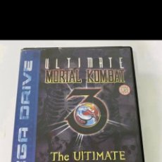 Videojuegos y Consolas: ULTÍMATE MORTAL KOMBAT 3 SEGA MEGADRIVE PAL. Lote 289514168