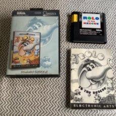 Videojuegos y Consolas: ROLO MEGADRIVE MEGA DRIVE COMPLETO. Lote 289576443