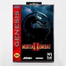 Videojuegos y Consolas: JUEGO SEGA GENESIS MORTAL KOMBAT 2 NUEVO. Lote 289736313