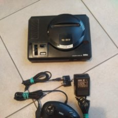 Videojuegos y Consolas: CONSOLA SEGA MEGADRIVE CON MANDO Y CABLES , PROBADA Y FUNCIONANDO. Lote 292236048