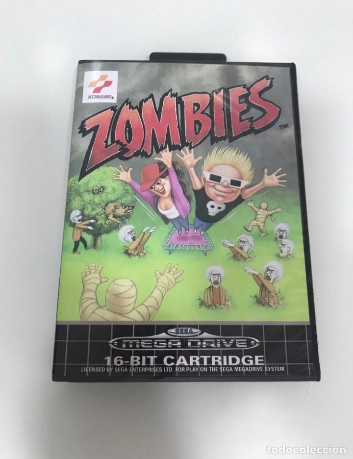 MEGADRIVE ZOMBIES (Juguetes - Videojuegos y Consolas - Sega - MegaDrive)