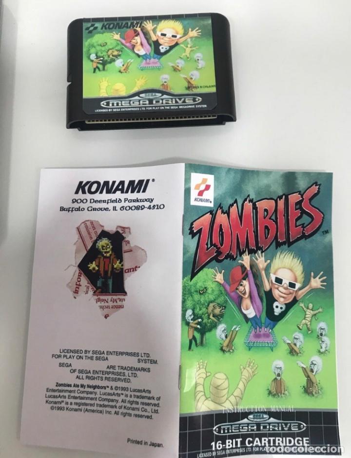 Videojuegos y Consolas: Megadrive Zombies - Foto 4 - 293624983