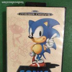 Videojuegos y Consolas: SONIC THE HEDGEHOG - SEGA MEGADRIVE MD - PAL. Lote 294433198