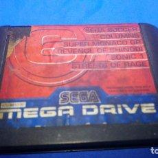 Videojuegos y Consolas: SEGA MEGADRIVE MEGAGAMES 6. Lote 294506858