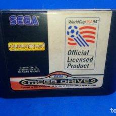 Videojuegos y Consolas: U.S. GOLD - WORLD CUP USA 94 - MEGADRIVE - SEGA MEGA DRIVE. Lote 294507048