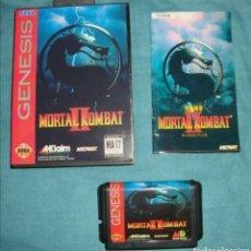Videojuegos y Consolas: MORTAL KOMBAT II COMPLETO COMPATIBLE TIPO SEGA MEGA DRIVE MEGADRIVE GENESIS REPRO CLON. Lote 294807463