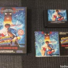 Videojuegos y Consolas: STREET FIGHTER II MEGADRIVE.. Lote 294976873