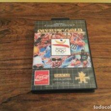 Videojuegos y Consolas: JUEGO OLYMPIC GOLD GAMES SEGA MEGA DRIVE MEGADRIVE COBI BARCELONA 92. Lote 295439078