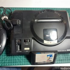 Videojuegos y Consolas: CONSOLA ANTIGUA SEGA MEGA DRIVE 16 BIT MEGADRIVE. Lote 295495533