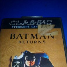 Videojuegos y Consolas: SEGA MEGADRIVE BATMAN RETURNS PAL. Lote 296036823