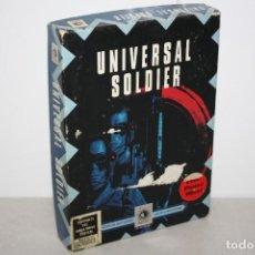 Videojuegos y Consolas: ANTIGUA CAJA DE UNIVERSAL SOLDIER PARA SEGA.. Lote 296057038