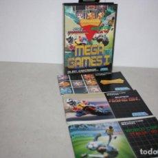 Videojuegos y Consolas: ANTIGUO JUEGOS MEGA GAMES I DE SEGA.. Lote 296573988