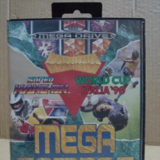 Videojuegos y Consolas: VIDEOJUEGO SEGA MEGADRIVE MEGA GAMES I 16-BIT. Lote 24469837