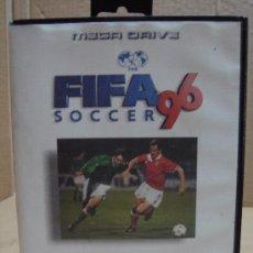 Videojuegos y Consolas: VIDEOJUEGO SEGA MEGADRIVE FIFA SOCCER 96 ¡¡COMPLETO¡¡. Lote 24469933