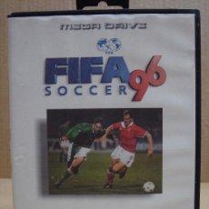 Videojuegos y Consolas: VIDEOJUEGO SEGA MEGADRIVE FIFA SOCCER 96 ¡¡ COMPLETO MEJOR QUE NUEVO ¡¡¡. Lote 24469937