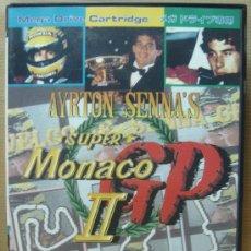 Videojuegos y Consolas: VIDEOJUEGO SEGA MEGADRIVE - JAPAN - SUPER MONACO GP II ¡¡¡ COMPLETO Y COMO NUEVO ¡¡¡. Lote 24469799