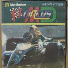 Videojuegos y Consolas: VIDEOJUEGO SEGA MEGADRIVE - JAPAN - F1 CIRCUS MD ¡¡¡ COMPLETO Y COMO NUEVO ¡¡¡. Lote 24469774