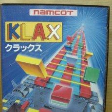 Videojuegos y Consolas: VIDEOJUEGO SEGA MEGADRIVE - JAPAN - KLAX ¡¡¡ COMPLETO Y COMO NUEVO ¡¡¡. Lote 24469767