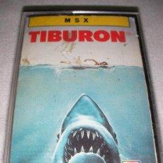 Videojuegos y Consolas: MSX TIBURON - ENVIO GRATIS A ESPAÑA. Lote 29361773