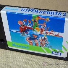 Videojuegos y Consolas: JUEGO CARTUCHO, HYPER SPORTS 3, ORIGINAL KONAMI, MSX, RC733, 1985. Lote 21806456