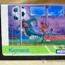 Videojuegos y Consolas: JUEGO CARTUCHO, FOOTBALL, ORIGINAL KONAMI, MSX, RC732, 1985. Lote 21806506