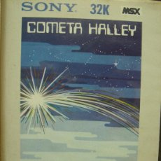 Videojuegos y Consolas: VIDEO JUEGO CASETE MSX - COMETA HALLEY - SONY HIT BIT . 1985. Lote 23108350