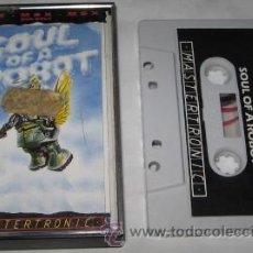 Videojuegos y Consolas: JUEGO MSX, MASTERTRONIC, SOUL OF A ROBOT. Lote 23913866