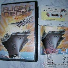 Videojuegos y Consolas: ANTIGUO JUEGO MSX FLIGH DECK - ENVIO GRATIS A ESPAÑA. Lote 24599485