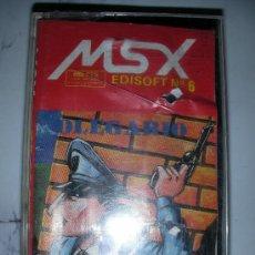 Videojuegos y Consolas: ANTIGUO JUEGO MSX OLEGARIO EL POLICIA DE MI BARRIO - ENVIO GRATIS A ESPAÑA. Lote 24599647