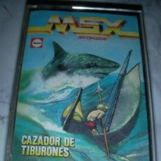 Videojuegos y Consolas: ANTIGUO JUEGO MSX CAZADOR DE TIBURONES - ENVIO GRATIS A ESPAÑA. Lote 36514934