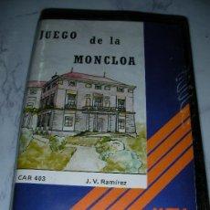 Videojuegos y Consolas: ANTIGUO JUEGO MSX JUEGO DE LA MONCLOA. Lote 24600488