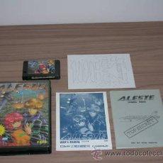 Videojuegos y Consolas: ALESTE COMPLETO MSX MSX2 COMPILE. Lote 27068068