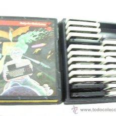 Videojuegos y Consolas: LOTE DE 23 CINTAS ANTIGUAS MSX CON DOS PROGRAMAS CADA UNA (46 PROGRAMAS MSX) EN ESTUCHE PHILIPS. Lote 27987807