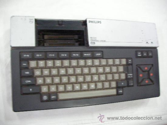 ANTIGUA CONSOLA PHILIPS (Juguetes - Videojuegos y Consolas - Msx)