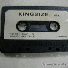 Videojuegos y Consolas: JUEGO KINGSIZE PARA MSX - ENVIO GRATIS A ESPAÑA. Lote 28364742