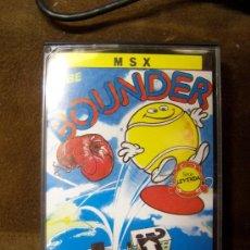Videojuegos y Consolas: MSX BOUNDER. Lote 31042819