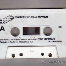 Videojuegos y Consolas: JUEGO PARA MSX: BATMAN BY OCEAN SOFTWARE - ESTUCHE NO DISPONIBLE -. Lote 31986810
