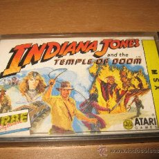 Videojuegos y Consolas: INDIANA JONES TEMPLE OF DOOM MSX. Lote 243323235
