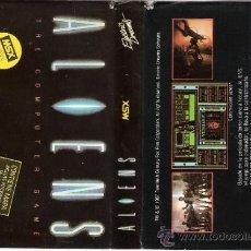 Videojuegos y Consolas: ALIENS. ELECTRIC DREAMS.CONTIENE MAPA. 1987.. Lote 34249851