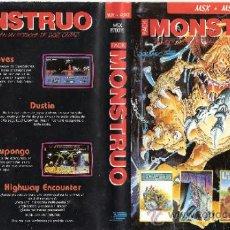 Videojuegos y Consolas: PACK MONSTRUO. MSX - MSX2.ARMY MOVES.LIVINGSTONE SUPONGO.HIGHWAY ENCOUNTER.DUSTIN.1987.. Lote 34250124
