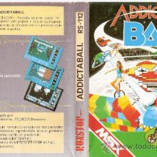 Videojuegos y Consolas: ADDICTA BALL. ADDICTABALL. RS - 112. RUNSTOP. ALLIGATA.1987.. Lote 34250184